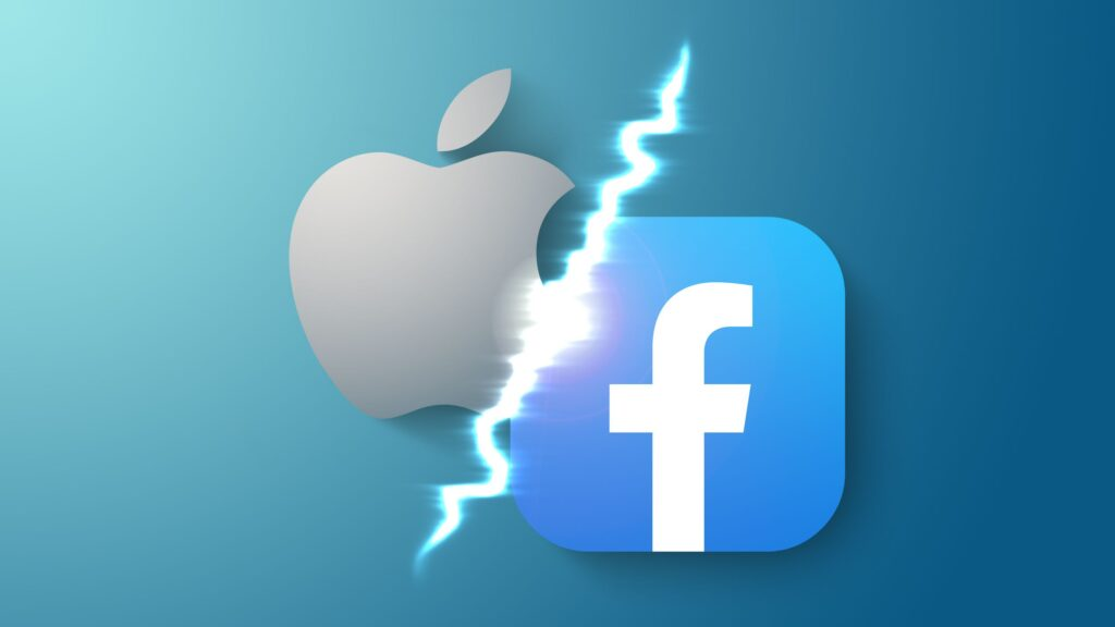 apple facebook dispute